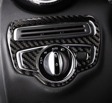 Load image into Gallery viewer, Mercedes-Benz C-Class / GLC Carbon Fiber Headlight Switch Unit