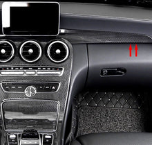 Load image into Gallery viewer, Mercedes-Benz C-Class / GLC Carbon Fiber Dashboard Strip