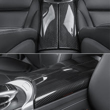Load image into Gallery viewer, Mercedes-Benz C-Class / GLC Carbon Fiber Central Tunnel Trim