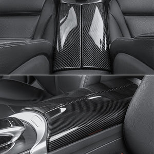 Mercedes-Benz C-Class / GLC Carbon Fiber Central Tunnel Trim