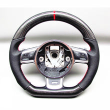 Load image into Gallery viewer, 2007-2015 Audi R8 Carbon Fiber Steering Wheel