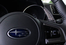 Load image into Gallery viewer, Subaru Carbon Fiber Paddle Shift Extensions