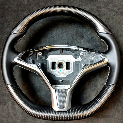 Tesla Model X Carbon Fiber Steering Wheel