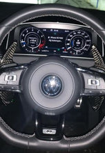 Load image into Gallery viewer, VW Carbon Fiber Paddle Shift Extensions