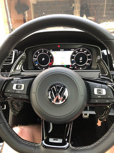 VW Carbon Fiber Paddle Shift Extensions