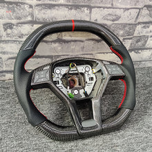 Load image into Gallery viewer, 2013-2018 Mercedes-Benz CLA Carbon Fiber Steering Wheel