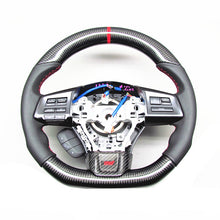 Load image into Gallery viewer, Subaru WRX/STI Carbon Fiber Steering Wheel