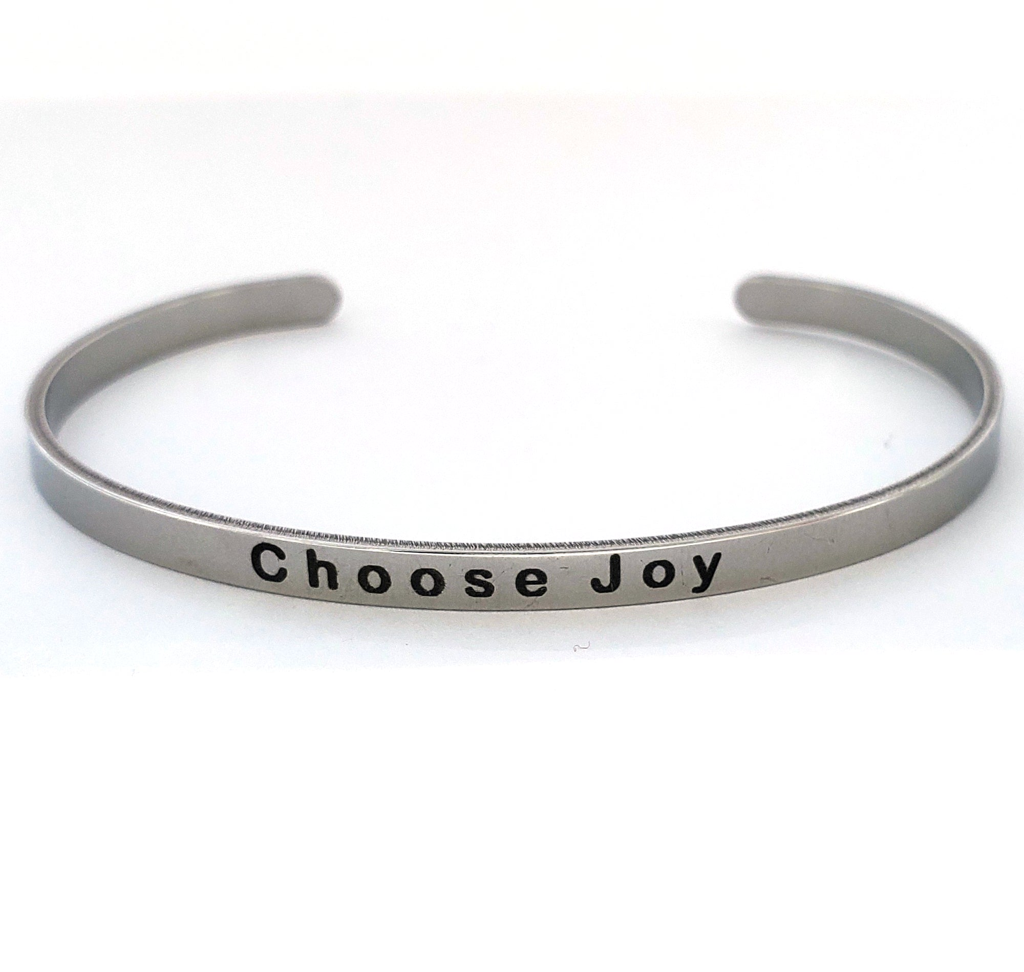 Choose Joy Stainless Bangle