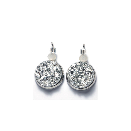 Shop Silver Stainless Steel Drop Earrings (14mm)-Jarvi