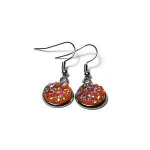 Shop Apricot Stainless Steel Drop Earrings (14mm)-Jarvi