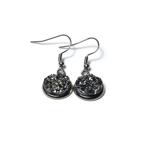Shop Blackberry Stainless Steel Drop Earrings (14mm)-Jarvi