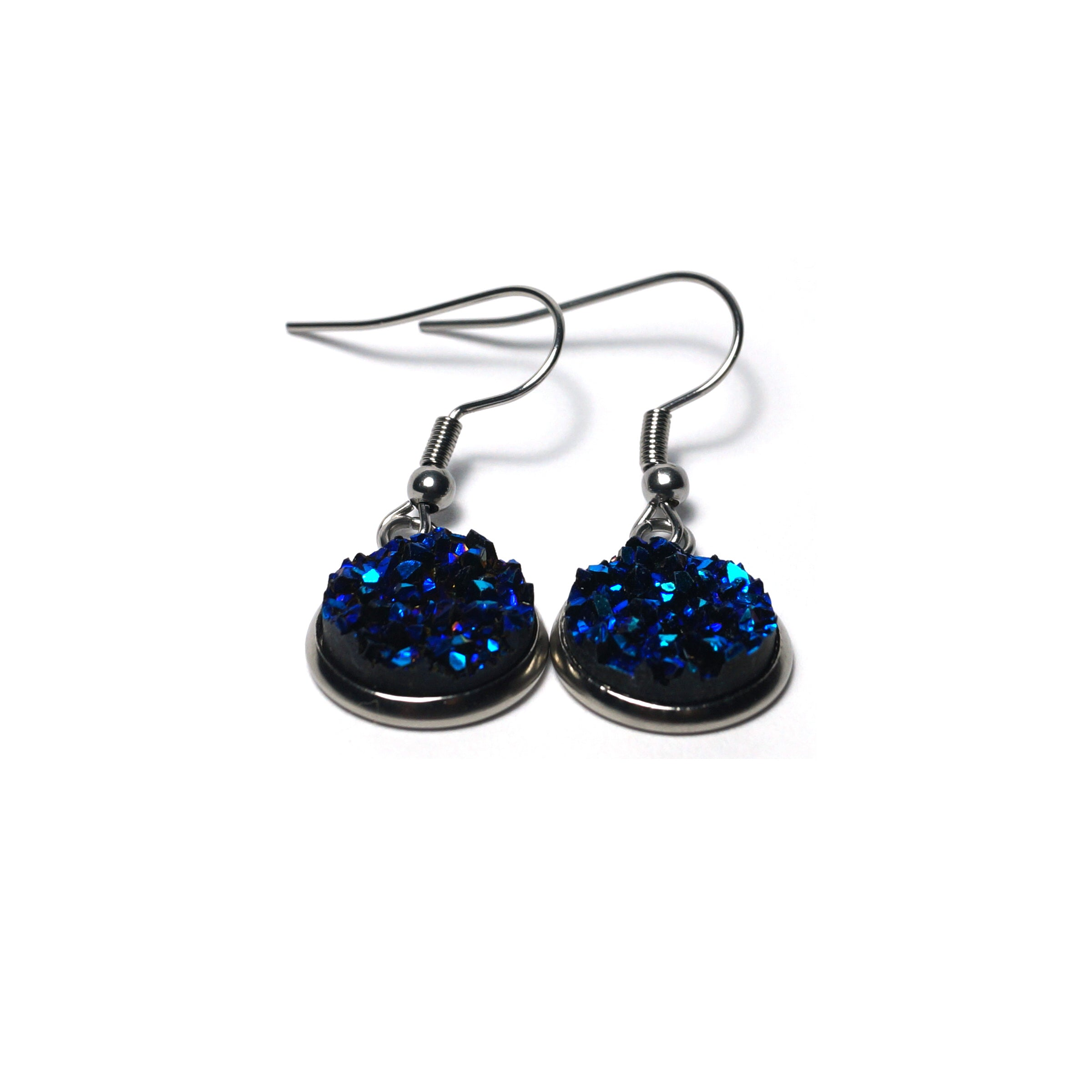 Shop Bluebell Stainless Steel Drop Earrings (14mm)-Jarvi