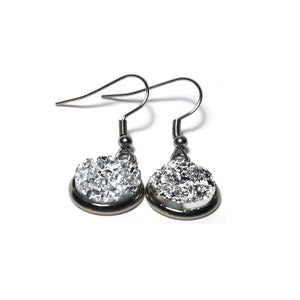 Shop Magnolia Stainless Steel Drop Earrings (14mm)-Jarvi