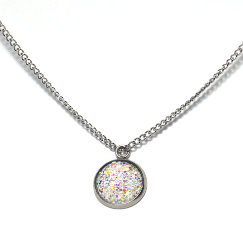 Shop White Dove Druzy Necklace-Jarvi