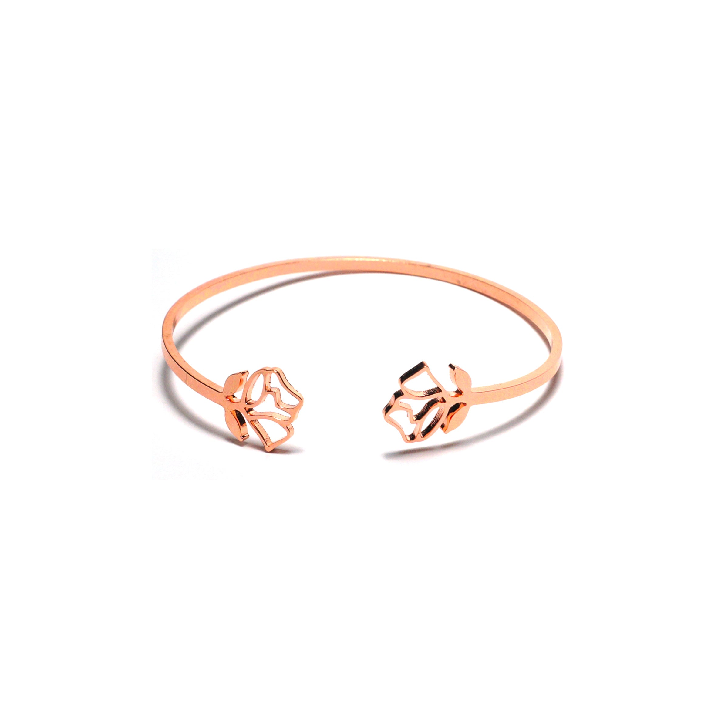 Shop Rose Stainless Steel Bangle-Jarvi