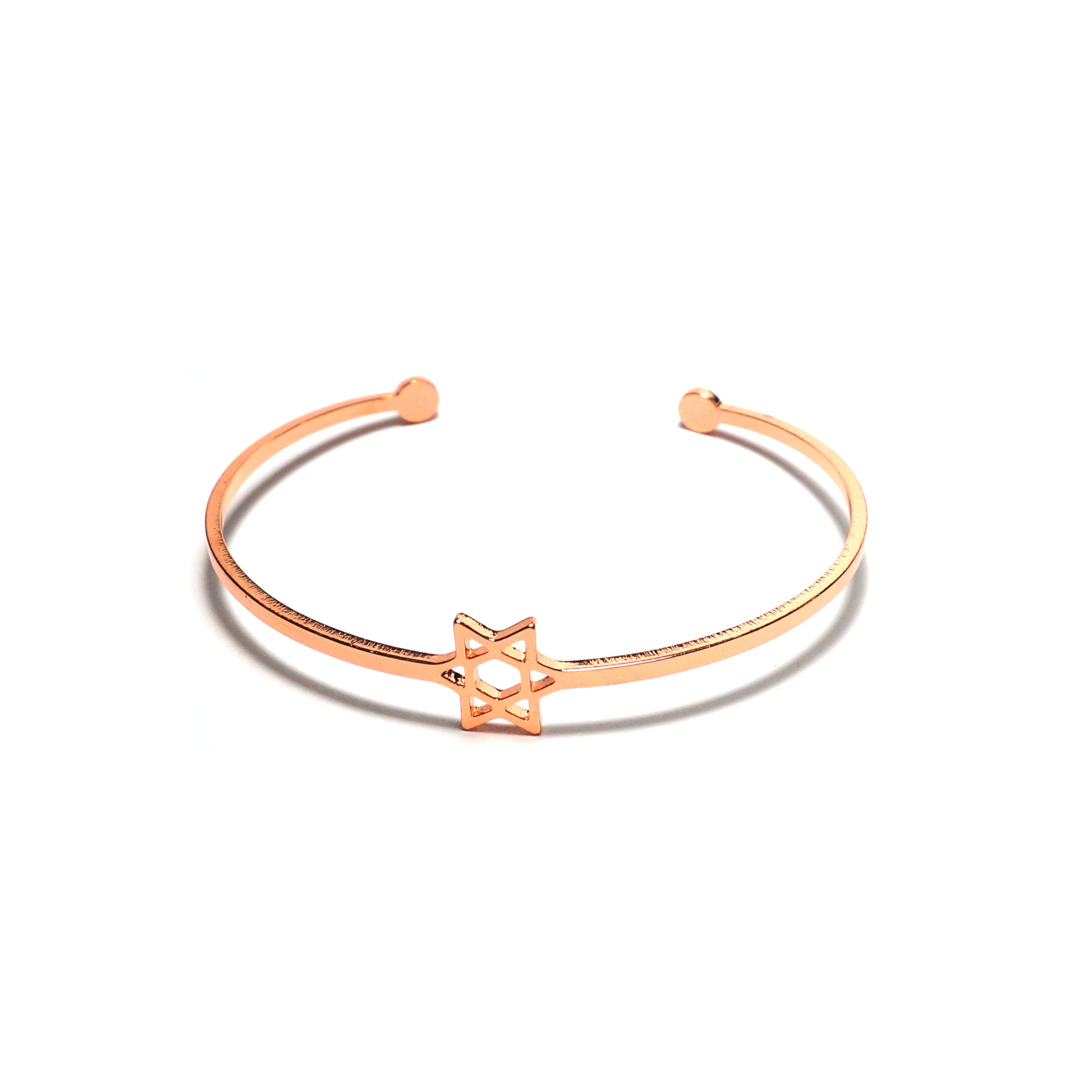 Shop Hexagram Stainless Steel Bangle-Jarvi