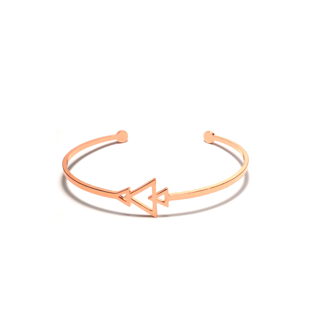 Shop Arrows Stainless Steel Bangle-Jarvi