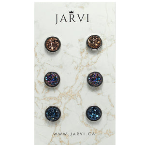 Denim Chick Trio Set (10mm)