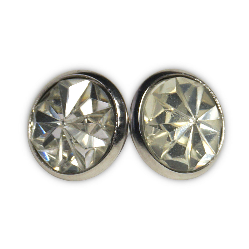 Clear Pelican Stud Earrings  (14mm)