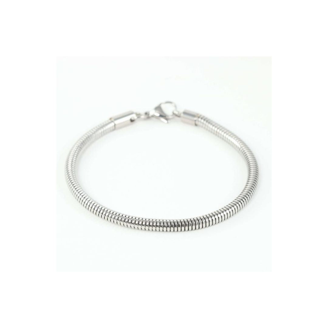 Stainless Steel Ball Clasp Bracelet