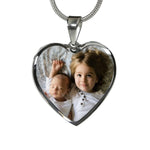 Shop Custom Photo Heart Necklace-Jarvi