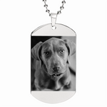 Custom Photo Etched Dog Tag