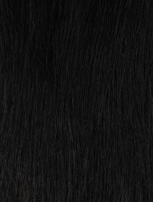 "Jet Black (1) 22"" in 270g- ON BACKORDER - BOMBAY HAIR  - Tamanna Clips 22"" 270g"