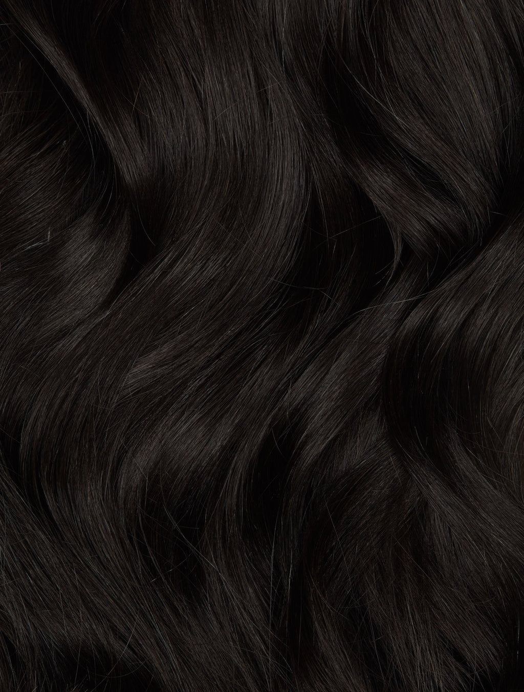 "Off Black (#1B) Hand-Tied Weft (60g) - 22"" (Pre Order Ships Early March)"