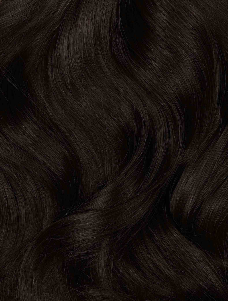 "Espresso (2) 24"" 270g- ON BACKORDER  (Ships Jan 19) - BOMBAY HAIR  - 24"" Clip In Extensions"
