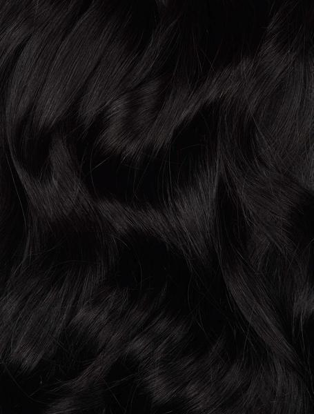 Virgin Black (#1A) Tape (50g) - BOMBAY HAIR  - Black Tape Hair