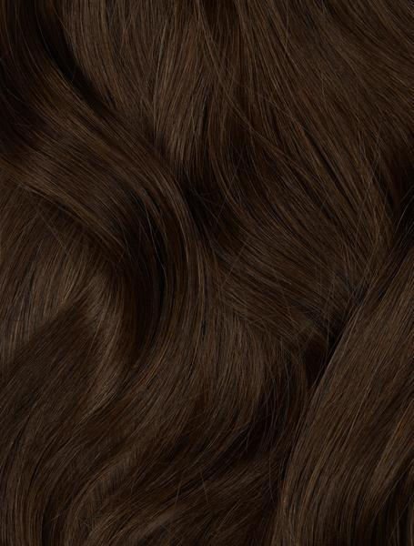 "Dark Brown (2) Hand-Tied Weft 22"" (60g) (Pre Order Ships Late April)"