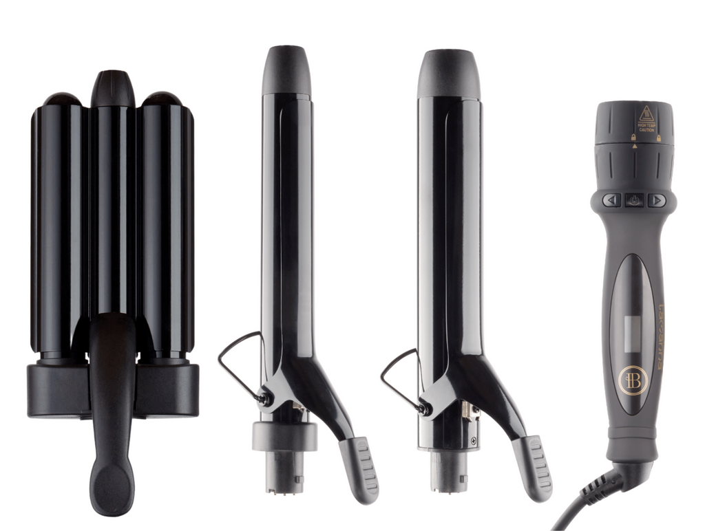 Tamanna 2-in-1 Curling Iron + Hair Waver