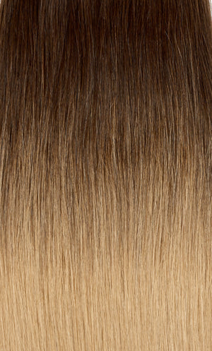 "Ombre - Dark Brown (#2) to Ash Brown (#9) 18"" Tape- ON BACKORDER"