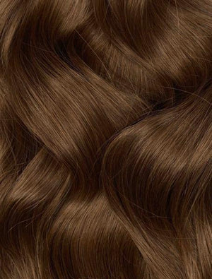 "Tape-in Chocolate Brown (#4) 22"" 50g- FINAL SALE"