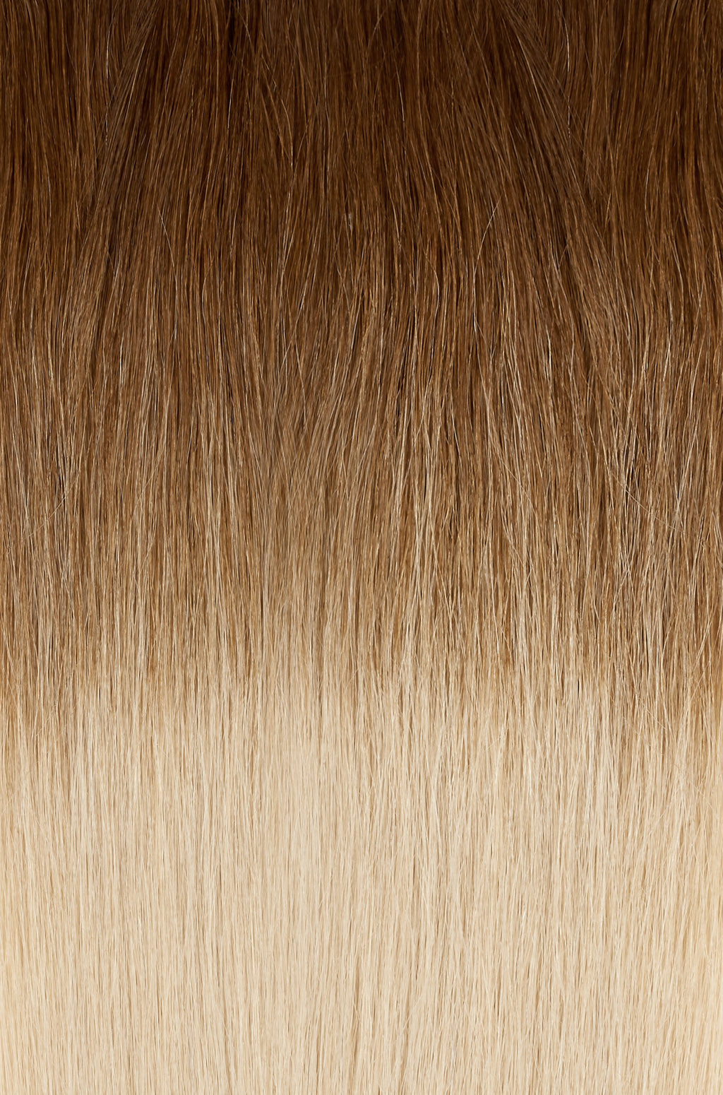 "Ombre - Caramel Brown (#4) to Dirty Blonde (#18B) Tape - BOMBAY HAIR  - Tape-In 22"" 50g"
