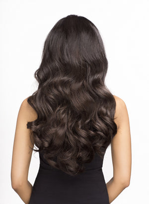 "Espresso (2) 18"" 190g- ON BACKORDER - BOMBAY HAIR  - 18"" Clip In Extensions"
