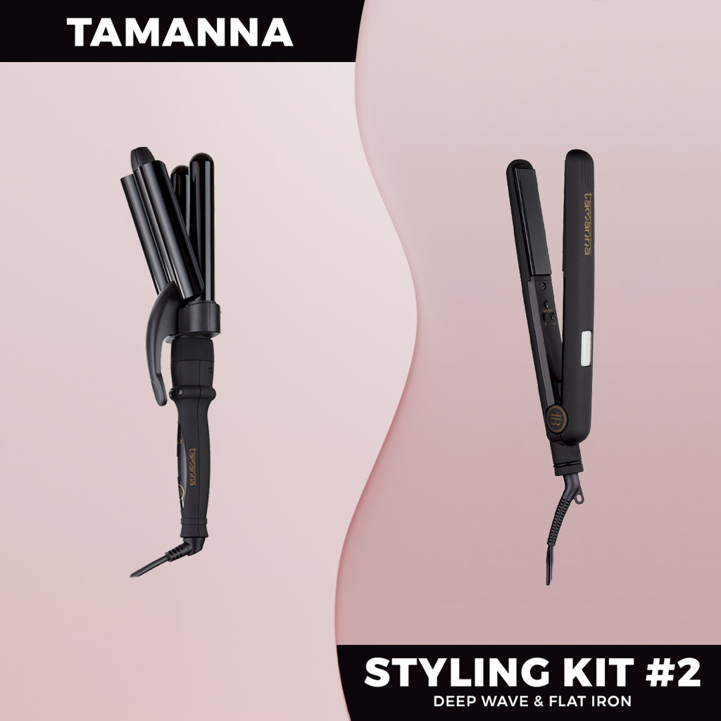 Tamanna Styling Kit #2 -  ON BACKORDER (Ships Aug) - BOMBAY HAIR  - Styling Kit