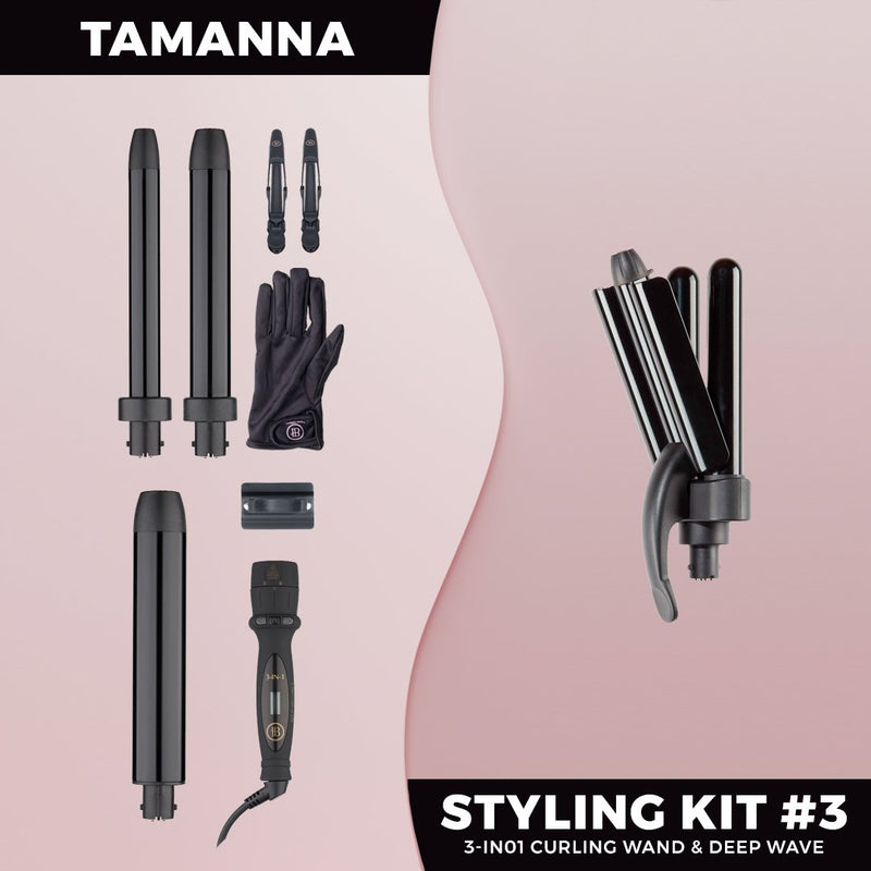 Tamanna Styling Kit #3 - ON BACKORDER (Ships August) - BOMBAY HAIR  - Styling Kit