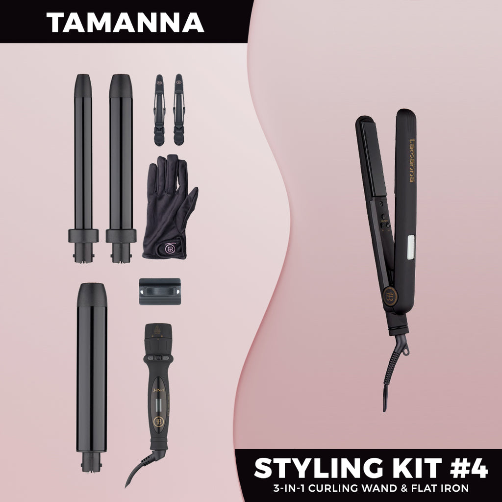 Tamanna Styling Kit #4 - BOMBAY HAIR  - Styling Kit
