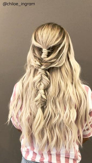 Beach Blonde (#23) Weft - BOMBAY HAIR  - Weft