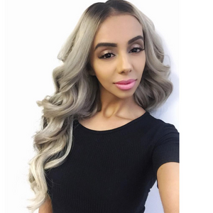 "Espresso Highlight Blend (2/60) 22"" 220g - BOMBAY HAIR  - 22"" Clip In Extensions"