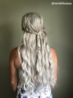 "White Blonde (#60B) 20"" I-Tip- ON BACKORDER"