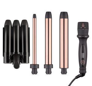 3-in-1 Curling Wand + Hair Waver