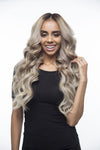 "Espresso Highlight Blend (2/60) 20"" 220g - BOMBAY HAIR  - 20"" Clip In Extensions"