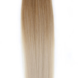 "Ombre - Ash Brown (#9) to White Blonde (#60B) 16"" Tape"