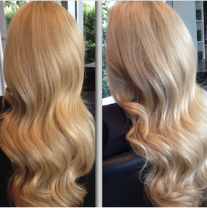 "Beach Blonde (18/60) 18"" 125g-  ON BACKORDER - BOMBAY HAIR  - 18"" Clip In Extensions"