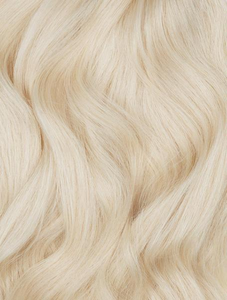 "Ash Blonde (60) 18"" 125g - BOMBAY HAIR  - 18"" Clip In Extensions"