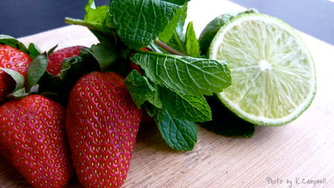 A Berry Minty Juice Recipe