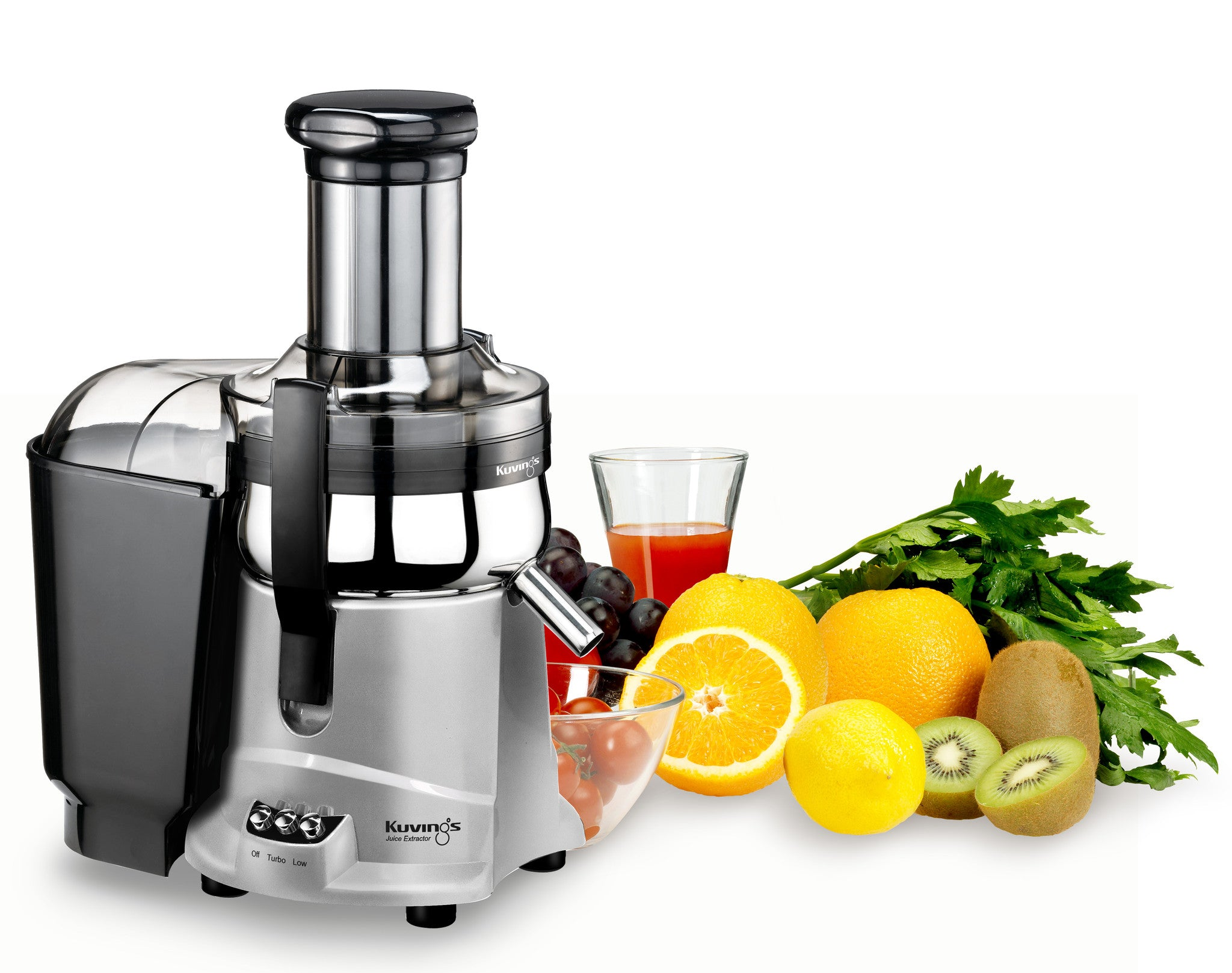 Healthy Living Slow Juicer Natural Juice Extractor : Kuvings NJ-9500U Centrifugal Juice Extractor by Kuvings Juicers Best