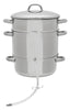 Victorio Stainless Steel Steam Juicer 11.5 Quart